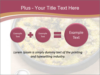 Spanish Dish PowerPoint Template - Slide 75