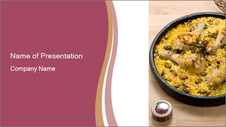 Spanish Dish PowerPoint Template
