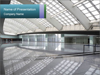 Urban Mall PowerPoint Template