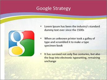Yellow Summer Field PowerPoint Template - Slide 10