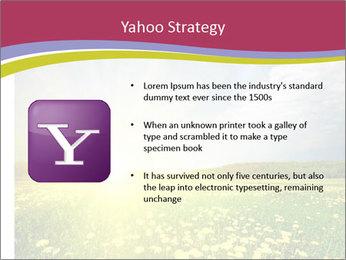 Yellow Summer Field PowerPoint Template - Slide 11
