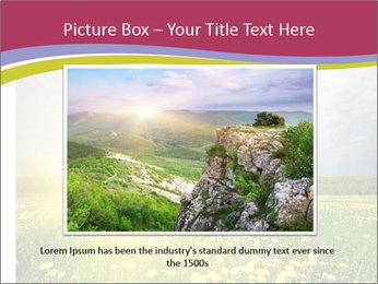 Yellow Summer Field PowerPoint Template - Slide 16