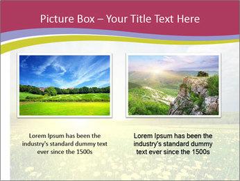 Yellow Summer Field PowerPoint Template - Slide 18