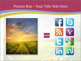Yellow Summer Field PowerPoint Template - Slide 21