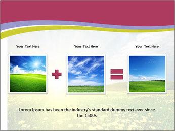 Yellow Summer Field PowerPoint Template - Slide 22