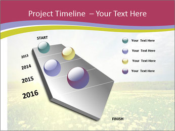 Yellow Summer Field PowerPoint Template - Slide 26