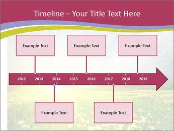 Yellow Summer Field PowerPoint Template - Slide 28