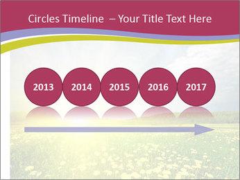Yellow Summer Field PowerPoint Template - Slide 29