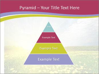 Yellow Summer Field PowerPoint Template - Slide 30