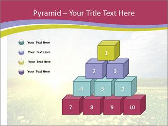 Yellow Summer Field PowerPoint Template - Slide 31