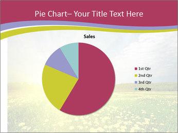 Yellow Summer Field PowerPoint Template - Slide 36