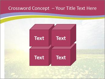 Yellow Summer Field PowerPoint Template - Slide 39