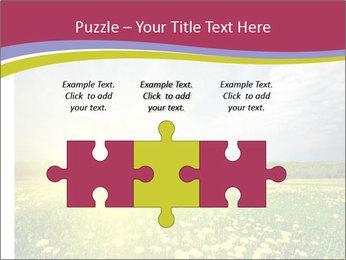 Yellow Summer Field PowerPoint Template - Slide 42