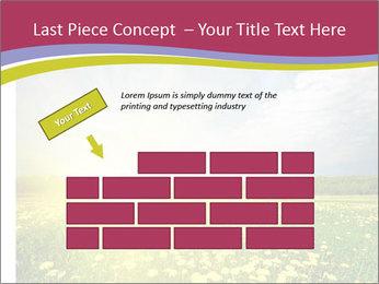 Yellow Summer Field PowerPoint Template - Slide 46