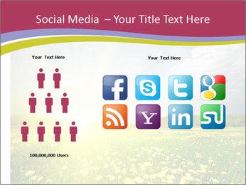 Yellow Summer Field PowerPoint Template - Slide 5
