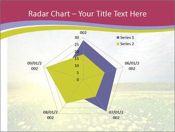 Yellow Summer Field PowerPoint Template - Slide 51