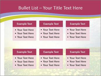 Yellow Summer Field PowerPoint Template - Slide 56
