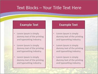 Yellow Summer Field PowerPoint Template - Slide 57