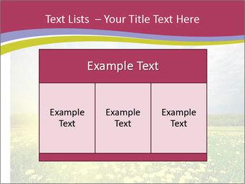 Yellow Summer Field PowerPoint Template - Slide 59