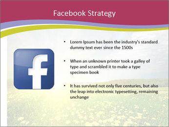 Yellow Summer Field PowerPoint Template - Slide 6