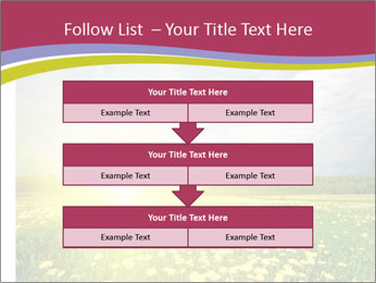 Yellow Summer Field PowerPoint Template - Slide 60