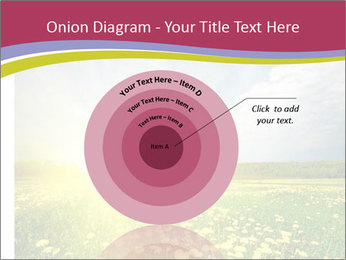 Yellow Summer Field PowerPoint Template - Slide 61