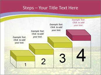 Yellow Summer Field PowerPoint Template - Slide 64