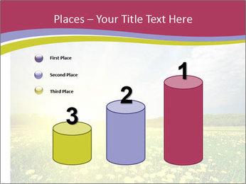 Yellow Summer Field PowerPoint Template - Slide 65