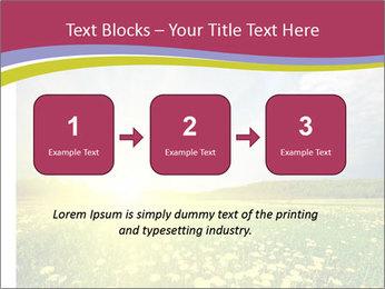 Yellow Summer Field PowerPoint Template - Slide 71