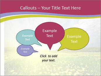 Yellow Summer Field PowerPoint Template - Slide 73