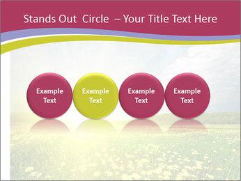 Yellow Summer Field PowerPoint Template - Slide 76