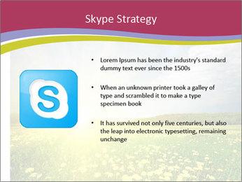 Yellow Summer Field PowerPoint Template - Slide 8