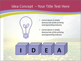 Yellow Summer Field PowerPoint Template - Slide 80