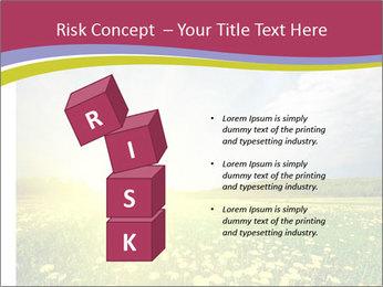 Yellow Summer Field PowerPoint Template - Slide 81