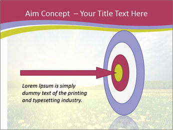 Yellow Summer Field PowerPoint Template - Slide 83