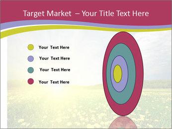 Yellow Summer Field PowerPoint Template - Slide 84
