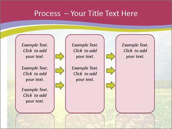 Yellow Summer Field PowerPoint Template - Slide 86