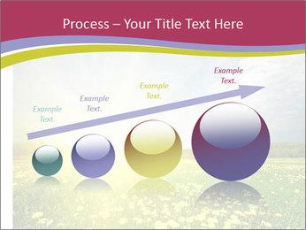 Yellow Summer Field PowerPoint Template - Slide 87