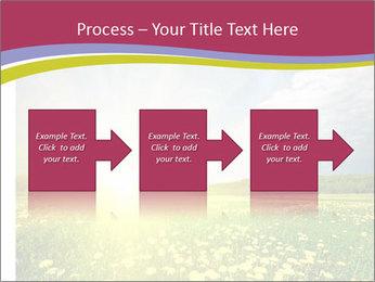 Yellow Summer Field PowerPoint Template - Slide 88