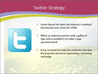 Yellow Summer Field PowerPoint Template - Slide 9