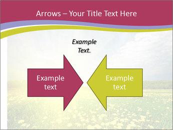 Yellow Summer Field PowerPoint Template - Slide 90
