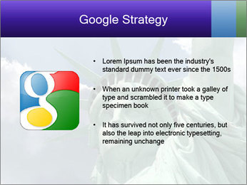 Famous Statue Of Liberty PowerPoint Template - Slide 10