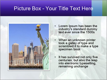 Famous Statue Of Liberty PowerPoint Template - Slide 13