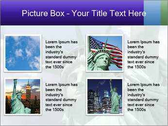 Famous Statue Of Liberty PowerPoint Template - Slide 14