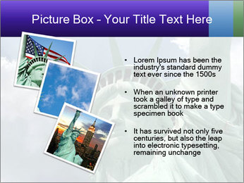 Famous Statue Of Liberty PowerPoint Template - Slide 17