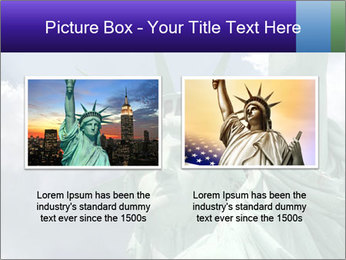 Famous Statue Of Liberty PowerPoint Template - Slide 18