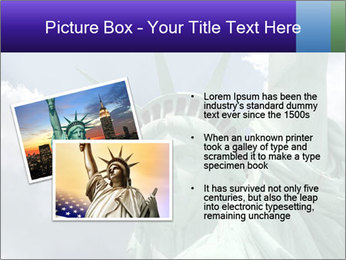 Famous Statue Of Liberty PowerPoint Template - Slide 20