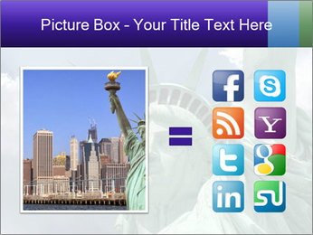 Famous Statue Of Liberty PowerPoint Template - Slide 21