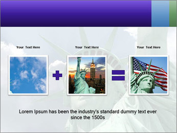 Famous Statue Of Liberty PowerPoint Template - Slide 22