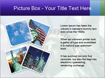Famous Statue Of Liberty PowerPoint Template - Slide 23